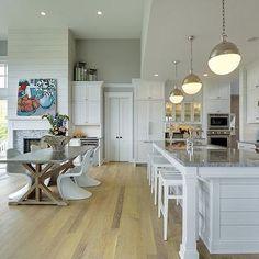 Modern Beach Kitchen