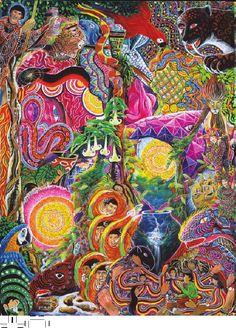 Ayahuasca Visions of Pablo Amaringo