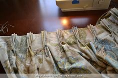 how to make double width lined pinch pleated drapery panels - 51