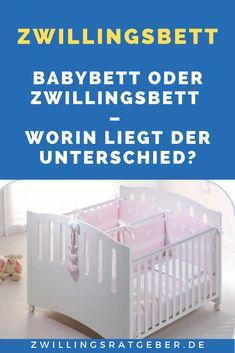 Die meisten Eltern von #Zwillingen, lassen die neugeborenen Babys zusammen in einem normalen #Babybett schlafen, dies ist platzsparend und die Zwillis können so die Nähe weiter spüren, in der sie sich ja schon Monate vorher im Bauch befanden. Allerdings klappt das zusammenschlafen in einem kleinen Babybett nicht immer so gut, nämlich dann nicht, wenn die beiden sich gegenseitig stören oder zu unterschiedlichen Zeiten schlafen. Früher oder später braucht man zwe Twins, Mom And Dad, New Babies, Traveling With Children, Family Life, Baby & Toddler, Twin, Gemini, Twin Babies