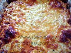 low carb lasagna www.sleevers.wordpress.com Low carb, high protein VSG recipes, WLS recipe, Bariatric, gluten-free.