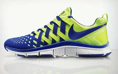 These Bright Nike Running Shoes Emulate a Chinese Finger Trap #running #shoes trendhunter.com