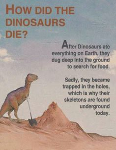 History...those funny creationists...