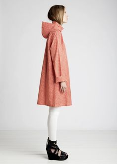 Because... it rains. Marimekko raincoat.