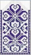 Картинки по запросу варежки орнаментом схемы