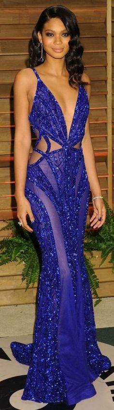 Zuhair Murad Blue Hot Formal Dress by Blog da Paulinha