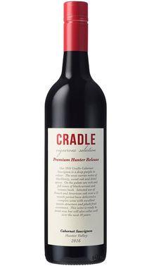 Molly's Cradle Cradle Cabernet Sauvignon 2016 Hunter Valley - 6 Bottles Just Wine, Red Wines, Liquor License, Organic Fruit, Wine Labels, French Oak, Cabernet Sauvignon, Alcoholic Drinks, Bottles