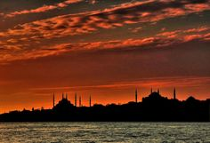 Osman Karamehmetoğlu, Istanbul'da Günbatımı Istanbul, Celestial, Paris, Sunset, Outdoor, Outdoors, Montmartre Paris, Paris France, Sunsets