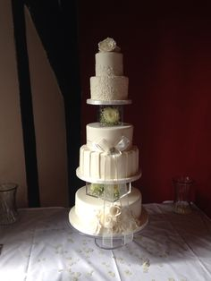 Hospitium 5 tier Wedding cake
