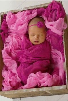 CPW205 Fuchsia Cheesecloth Baby Wrap (3ft x 5ft)