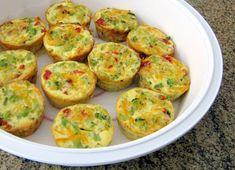 Mini Crustless Broccoli Quiches Recipe | Yummly