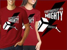 Fortunately, I am Mighty | Avengers Thor t-shirt | My Geekery