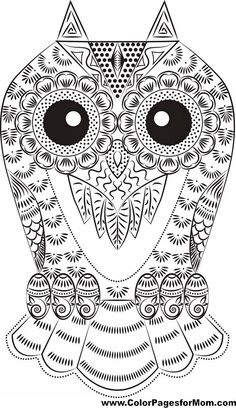 335 Best Owl Coloring Pages Images Owl Coloring Pages Coloring