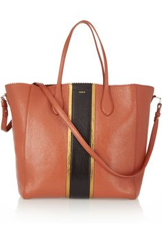 Rochas | Textured-leather tote | NET-A-PORTER.COM