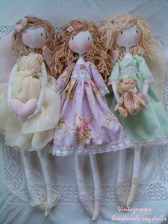 https://flic.kr/p/Cf6iX1 | Handmade rag dolls | Handmade rag doll.Waldorf doll.Soft doll. Custom home-made rag dolls, bags, vanity vintage style lovers. tildaskedvenc.blogspot.hu/