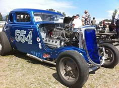 """Mooneyham & Sharp 1934 Ford 5W Coupe """"554"""". Courtesy of Model 40 Fan-Tastic Page on fb."""