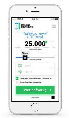 Oto jak wygląda aplikacja Mobilna Chwilówka po zainstalowaniu na smartfonie. Odtąd miejsce i czas nie ograniczają we wnioskowaniu za pomocą telefony o pożyczkę gotówkową.
