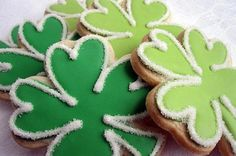 Shamrock Sugar Cookies from Fun St. Patrick's Day Treats for Kids Slideshow