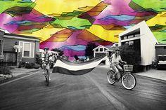 Alexandra Valenti's Painted Photographs    Crafturday Blog