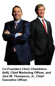 Ambit Energy Co-Founders Chris Chambless (CMO) and Jere Thompson Jr (CEO) www.DiscoverAmbit.com