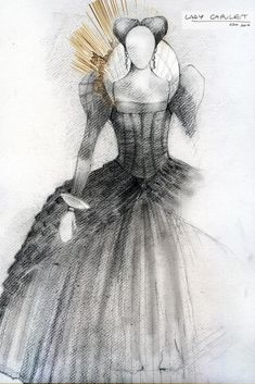 Romeo and Juliet (Lady Capulet). RSC. Costume design by Tom Scutt. 2010