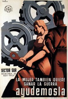 Parrilla, She also wants to win the war, 1937
