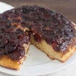 Cherry-Cornmeal Upside-Down Cake