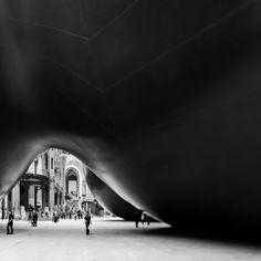 Anish Kapoor's Leviathan-Monumenta, Photo by Franck Bohbot.