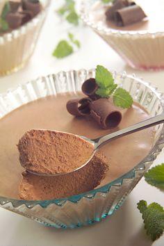 Mousse de chocolate (con leche evaporada)