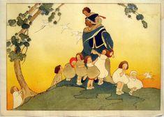Woodblock prints (Estampes) :: The Piper