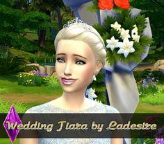 Wedding Tiara at Ladesire via Sims 4 Updates #Sims4