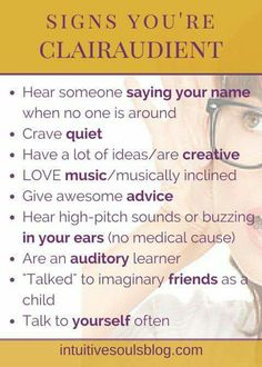 Except that I'm a visual leaner (and while I love music, I'm not inclined), this is me to a TEE!