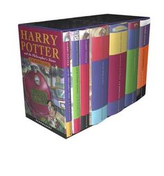 Contains all seven Harry Potter titles -Harry Potter Classic Hardback Boxed Set (Hardback) By (author) J. K. Rowling Book rating: 05  Free worldwide shipping  AUD$157.67 Save $37.25 19% off RRP $194.92 Free shipping worldwide