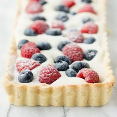 White Chocolate Berry Tart « Go Bold with Butter