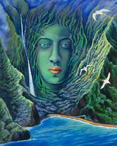 Hina Of Molokai by Anna Fuernsteiner