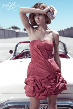 Vestido de Cocktail de Carla Ruiz 2012 - Modelo 86390