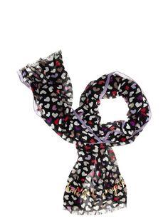 fancy meeting you dancing hearts scarf