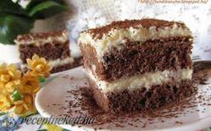 Érdekel a receptje? Kattints a képre! Low Carb Desserts, Low Carb Recipes, No Sugar Foods, Cake Cookies, Tiramisu, Cravings, Deserts, Food And Drink, Sweets