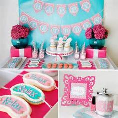 Little Girls Spa Birthday Party Ideas - Bing Images
