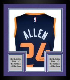 Framed Grayson Allen Utah Jazz Autographed Nike Blue Swingman Jersey   sportsmemorabilia  autograph  basketballjersey 2217e6b76