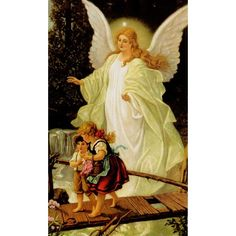 Guardian Angel Personalized Prayer Card (Priced Per Card)