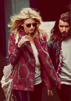 Free People / Martha Hunt and Danny Fox /photographed by Guy Aroch ♥ na