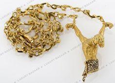 Carrera y Carrera Gold and Diamond Jesus Necklace