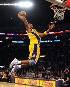 Former Los Angeles Lakers' guard Kobe Bryant turns 40 on August Here are some highlights from throughout the basketball legend's career. Basketball Legends, Sports Basketball, Basketball Players, Basketball Schedule, Kobe Bryant Dunk, Lakers Kobe Bryant, Kobe Mamba, Kobe Bryant Black Mamba, X Games