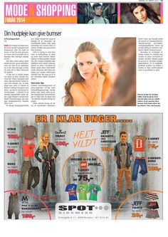 Februar 2014 - Randers Onsdag bringer Danish Skin Cares guide til at slippe af med bumser  Få guide her: http://www.danishskincare.dk/kundeservice/kuren_mod_bumser/