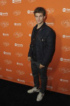 Keegan Allen  at the Hollywood Forever Cemetery to celebrate the Pretty Little Liars Halloween Special