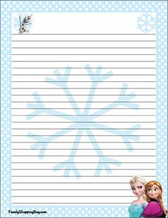 Free Printable Stationery, Printable Recipe Cards, Frozen Party, Frozen Birthday, Disney Writing, Scrapbook Da Disney, Imprimibles Toy Story Gratis, Autograph Book Disney, My Little Pony Birthday Party