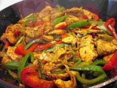 The Best Mexican Chicken Fajitas Recipe- My Way - YouTube