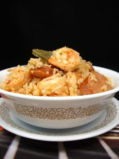 Cajun Rice Bowl with Andouille Sausage and Shrimp