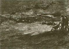 Dunes with Figures - Vincent van Gogh
